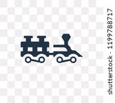 locomotive vector icon isolated ...   Shutterstock .eps vector #1199788717
