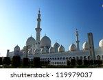 sheikh zayed grand mosque | Shutterstock . vector #119979037