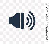 high volume vector icon... | Shutterstock .eps vector #1199793274
