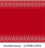 knitted textured background... | Shutterstock .eps vector #1199811901