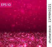 red glitter lights vector...   Shutterstock .eps vector #1199843221