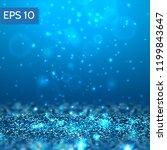 blue lights vector background....   Shutterstock .eps vector #1199843647