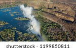 the victoria falls is the...   Shutterstock . vector #1199850811