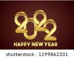 happy new year 2022 design | Shutterstock .eps vector #1199862331
