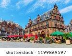 nijmegen  netherlands may 21 ... | Shutterstock . vector #1199869597