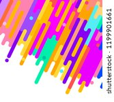 abstract vector background with ... | Shutterstock .eps vector #1199901661