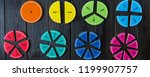 Colorful Math Fractions And...