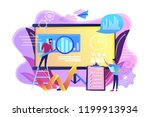 workgroup admit and identify ... | Shutterstock .eps vector #1199913934