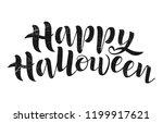 happy halloween vector...   Shutterstock .eps vector #1199917621