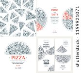 pizza banner design templates.... | Shutterstock .eps vector #1199921071