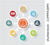 gas industrial icon info... | Shutterstock .eps vector #1199941894