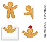 3 Gingerbread Mans With...