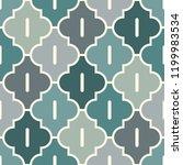 oriental traditional pattern.... | Shutterstock .eps vector #1199983534