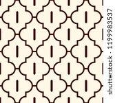 oriental traditional pattern.... | Shutterstock .eps vector #1199983537