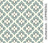 oriental traditional pattern.... | Shutterstock .eps vector #1199983561