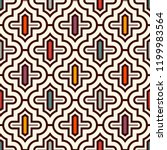 oriental traditional pattern.... | Shutterstock .eps vector #1199983564