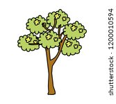 tree plant isolated icon   Shutterstock .eps vector #1200010594