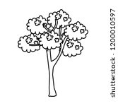 tree plant isolated icon   Shutterstock .eps vector #1200010597