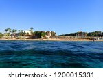 beach in the egypt as very nice ... | Shutterstock . vector #1200015331