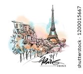 Paris Illustration. Ink And Pen ...