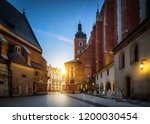 old city center view with st.... | Shutterstock . vector #1200030454