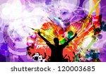 music event illustration.... | Shutterstock . vector #120003685