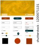 dark orange vector wireframe...