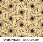 graphic floral tracery grid... | Shutterstock .eps vector #1200106384