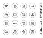 domestic icon set. collection... | Shutterstock .eps vector #1200108541