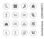 hanging icon set. collection of ...   Shutterstock .eps vector #1200108571