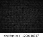 vector dark brick wall... | Shutterstock .eps vector #1200110317