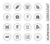 figure icon set. collection of...   Shutterstock .eps vector #1200113167