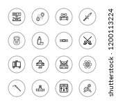 steel icon set. collection of...   Shutterstock .eps vector #1200113224