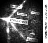 consulting. vector pattern.... | Shutterstock .eps vector #120012085