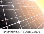 solar panel texture  ... | Shutterstock . vector #1200123571