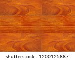 hardwood brown parquet... | Shutterstock . vector #1200125887