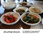 various and delicious korean... | Shutterstock . vector #1200126547