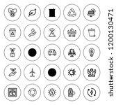 environmental icon set.... | Shutterstock .eps vector #1200130471