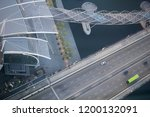aerial view of combined... | Shutterstock . vector #1200132091