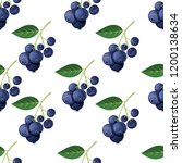 seamless pattern with... | Shutterstock .eps vector #1200138634