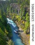 cheakamus river  the rapid... | Shutterstock . vector #1200145801