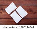 name card mock up.   Shutterstock . vector #1200146344