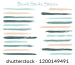 cool ink brush stroke stripes... | Shutterstock .eps vector #1200149491