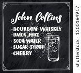 lettering name of cocktail...   Shutterstock .eps vector #1200164917