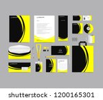 corporate identity set template ... | Shutterstock .eps vector #1200165301