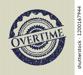 blue overtime with rubber seal... | Shutterstock .eps vector #1200167944