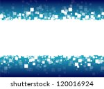 abstract blue futuristic...   Shutterstock .eps vector #120016924