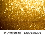 gold bokeh abstract background... | Shutterstock . vector #1200180301