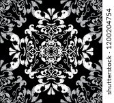 embroidery baroque seamless... | Shutterstock .eps vector #1200204754