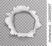 shellhole blow bullet... | Shutterstock .eps vector #1200205507